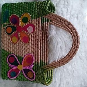 Weaved tote bag
